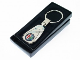 Sleutelhanger Alfa Romeo - in geschenkverpakking - after market product