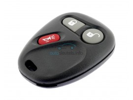 Chevrolet afstandsbediening 2 knoppen - panic button - 315 Mhz - 15042968 - after market product