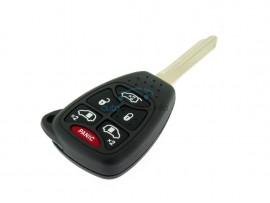 Chrysler sleutelbehuizing 5 knoppen + panic button - sleutelblad Y160 - inclusief drukknoppen - after market product