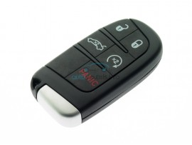Dodge smartkey 4 knoppen - 434 Mhz - HITAG 2 ID46 - after market product