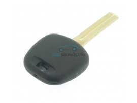 Citroen C1 contactsleutel met ID74 H transponder - sleutelblad TOY40 - after market product