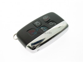 Landrover smartkey 4 knoppen + panic button - 434 Mhz - after market product