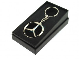 Sleutelhanger Mercedes Benz - 38 mm in luxe geschenkverpakking - after market product