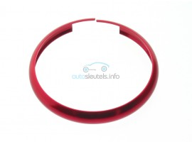 Aluminium ring voor smartkey Mini (MIN104)  - kleur rood - after market product