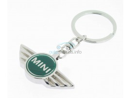 Sleutelhanger Mini - groen logo - after market product