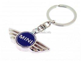 Sleutelhanger Mini - blauw logo - after market product