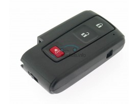 Toyota smartkey behuizing 2 knoppen + Panic Button - Prius - Corrola - after market product