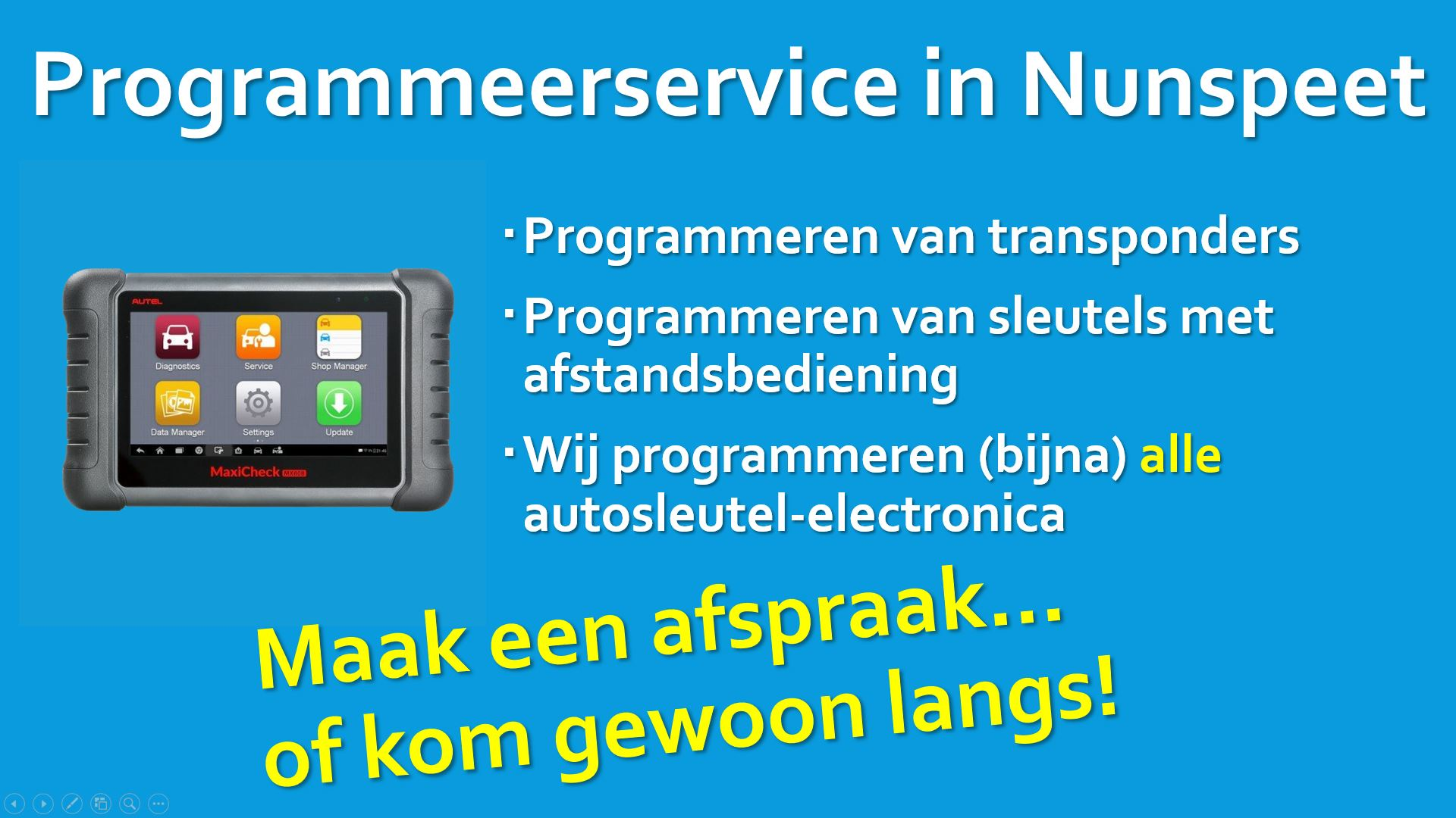 Autosleutels.info Programmeerservice